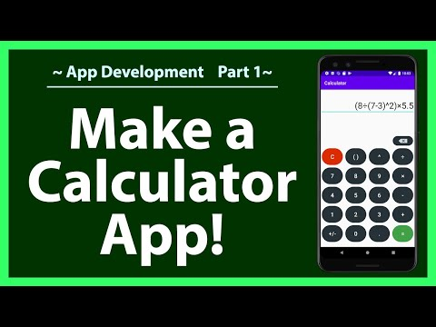 How to make a calculator in Android Studio 2020 | Part 1