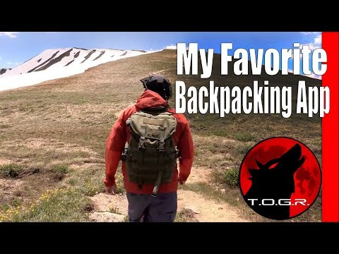 My Favorite Backpacking Map and GPS App – AllTrails - Review
