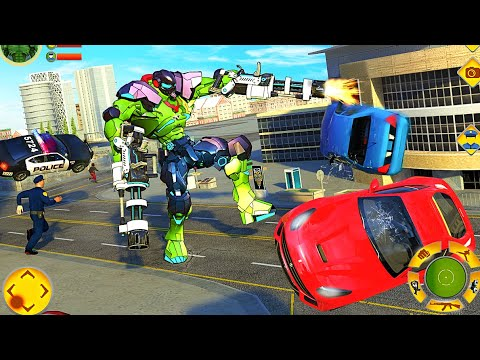 Incredible Monster Robot Hero Crime Shooting Game- Best Android IOS Gameplay