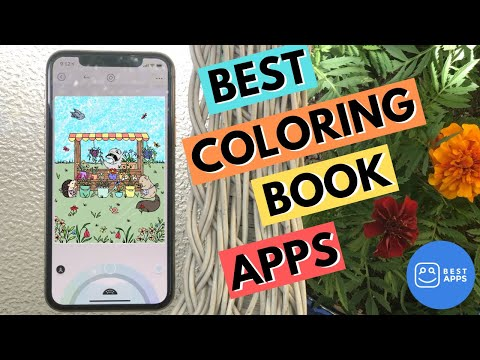 Check Out Our Favorite Coloring Book Apps! -- Relaxing TIMELAPSE