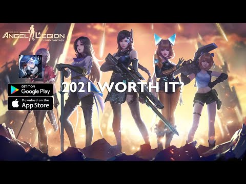 Angel Legion: Space Fantasy RPG Gameplay Android MMORPG 2021