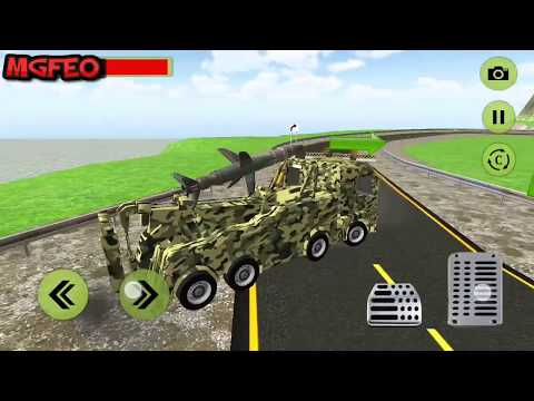 Missile Attack & Ultimate War - Truck Games - Android Game Play HD