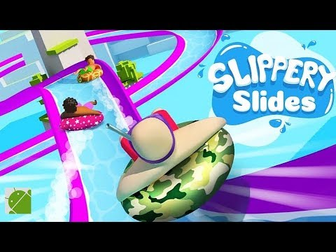 Slippery Slides - Android Gameplay FHD