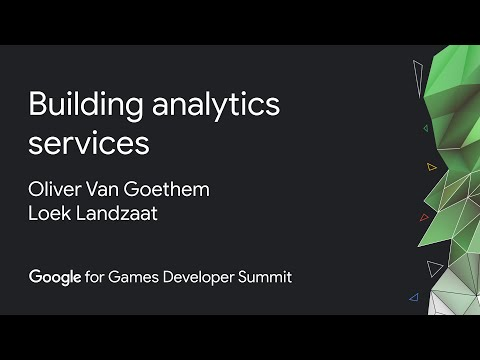Building gaming analytics online services with Google Cloud and Improbable (Google Games Dev Summit)