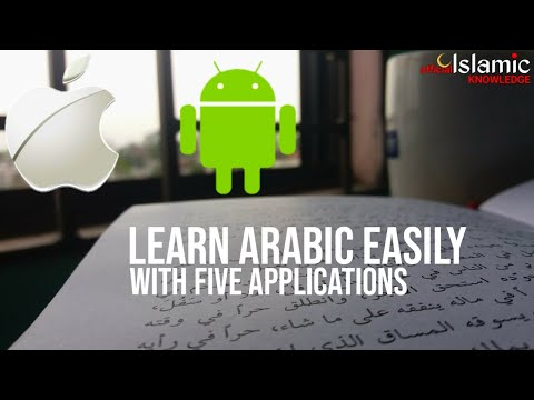 5 APPS (ANDROID & iOS) TO LEARN ARABIC LANGUAGE ONLINE EASILY