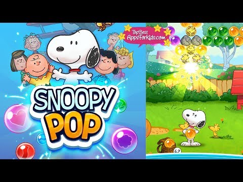 Snoopy Pop 😍 Free Snoopy Bubble Shooting Game App - Android, iPad, iPhone