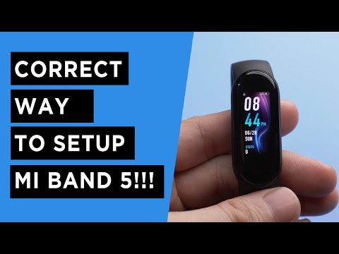 Xiaomi Mi Band 5 - Complete Setup for Android & iOS