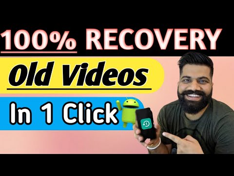 Video Recovery App For Android || How to restore delete videos