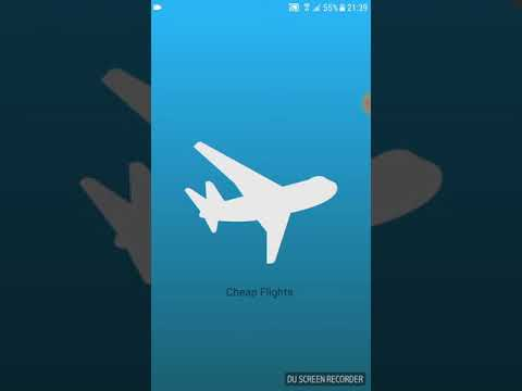 Cheap Flights Airline Booking Android App