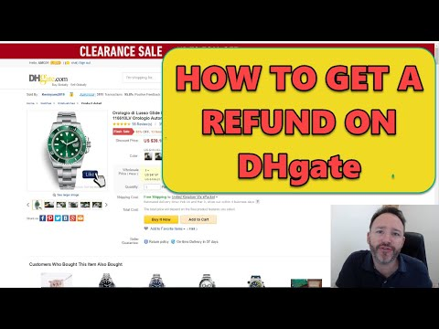 How to Get a Refund on DHgate