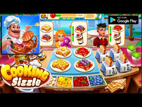 Cooking Sizzle: Master Chef - Android Gameplay HD