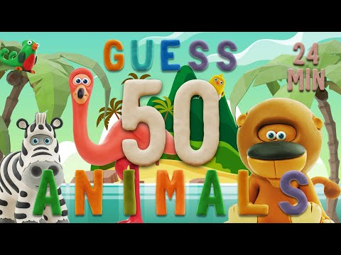 GUESS THE ANIMAL   Learn ABC and 50 animals easily   Talking ABC
