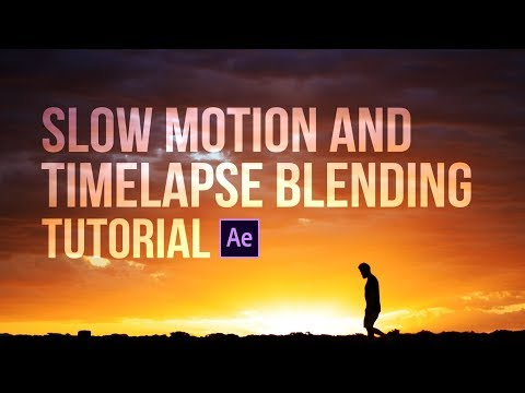How to combine slow motion and timelapse in After Effects