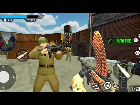 World War Survival Heroes:WW2 FPS Shooting Games _ Android GamePlay
