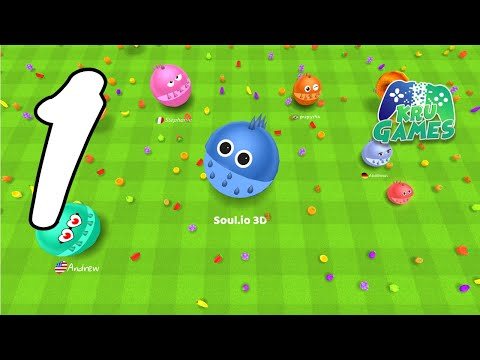 Soul.io 3D Gameplay Walkthrough #1 (Android, IOS)