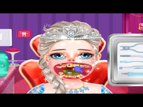 Princess Tooth Dentist Surgery Games Android IOS Gameplay