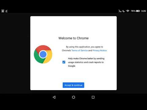 How-to: Sideload Chrome Amazon Fire