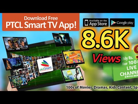 How to use PTCL SAMART TV APP free