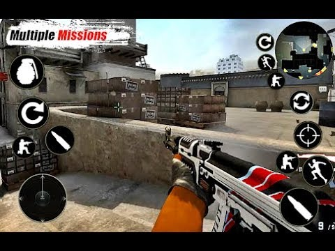 Critical Frontline Strike : Offline Shooting Games android gameplay