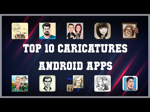 Top 10 Caricatures Android App | Review