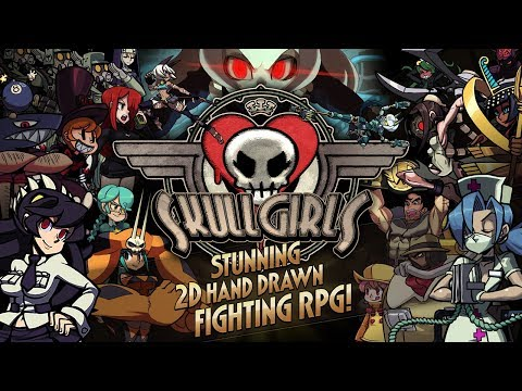 Skullgirls Fighting RPG Gameplay Android/iOS