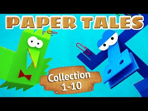 Paper Tales - Full episodes collection (1-10) Kids show - Moolt Kids Toons