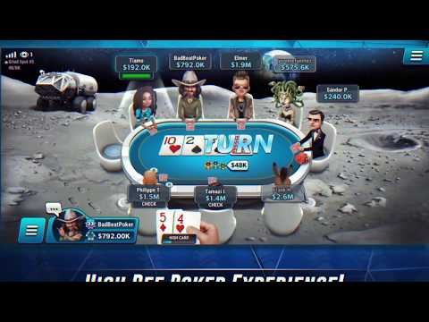video review of HD Poker: Texas Holdem Online Casino Games