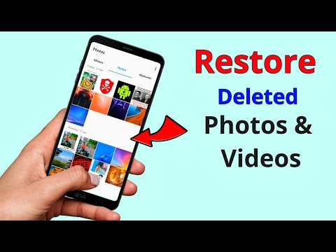 How to Restore deleted Photos & Videos in android