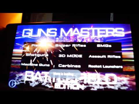 Guns Masters 3D: Battlefield app Showcase for Android | Weapon Simulator