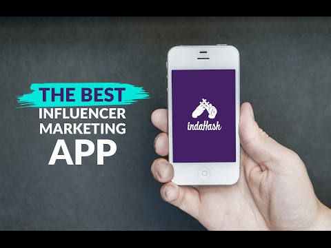 What is indaHash?    Best Influencer Marketing App