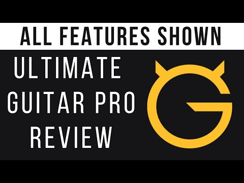 REVIEW - Ultimate Guitar Pro Review - ALL FEATURES SHOWN