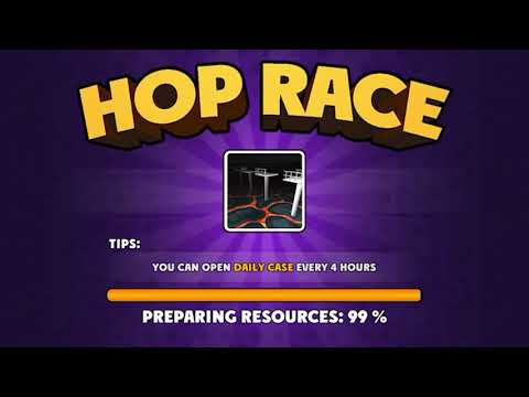 Hop Race 3D - Gameplay IOS & Android