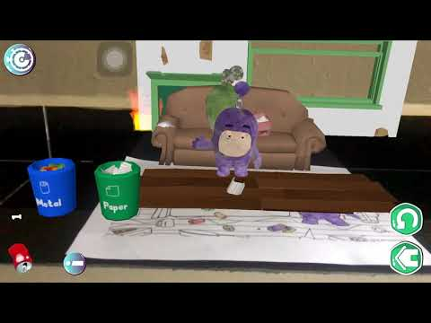 Oddbods Live Coloring - Jeff and Zee