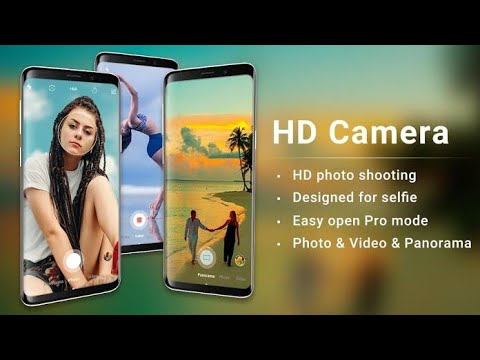 How to Use Professional HD Camera with Beauty Camera Android 2020