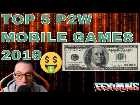 TOP 5 P2W MOBILE GAMES OF 2020