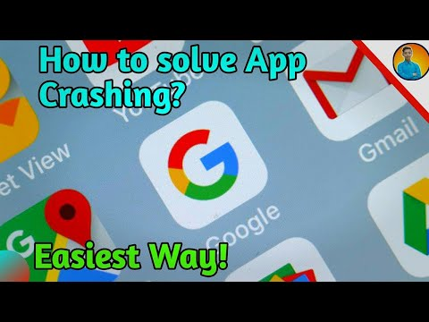 (ENG) Fix andriod apps crashing like gmail,chrome,maps etc on any android device😓 Simple Fix