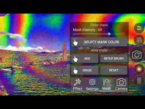 video review of Psychedelic camera