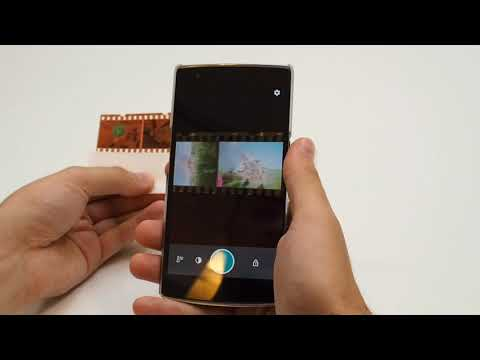 Demonstrating Photo Negative Scanner for Android