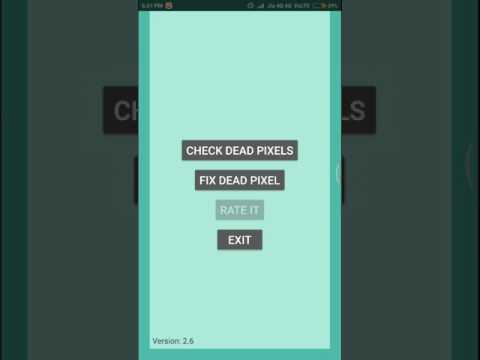 Any phone dead pixels (fixed) solution