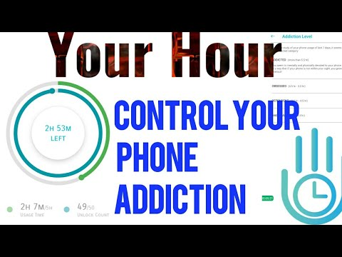 Control Your Phone Addiction In A digital Way By Your Hour App    Monitor Your App Usage With Timer