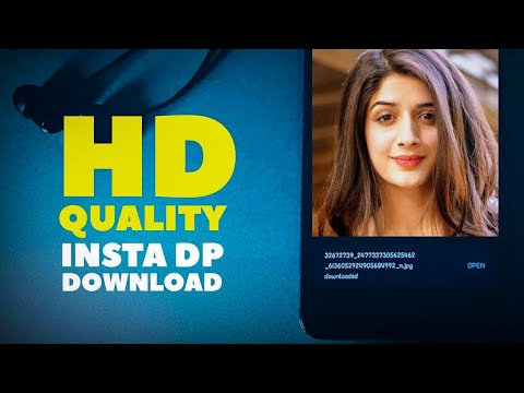 How To Download Instagram HD Quality Profile Picture 2019🔥Without App