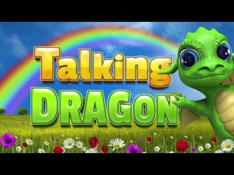 Talking Dragon. Funny app for Android.