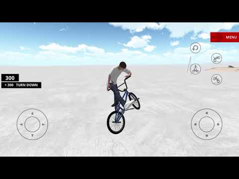 BMX Space - Gameplay IOS & Android