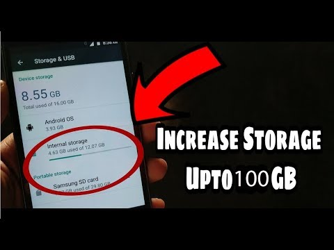 How to Increase Your Phones Internal Storage upto 100 GB! 2018
