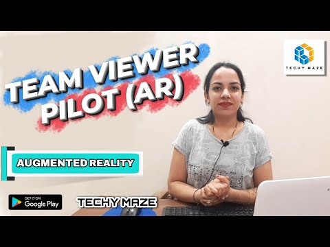 Teamviewer Pilot | Remote Connection with PC to Mobile | Remote Support via Augmented Reality