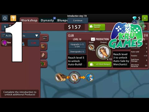 Crafting Idle Clicker Gameplay Walkthrough #1 (Android, IOS)