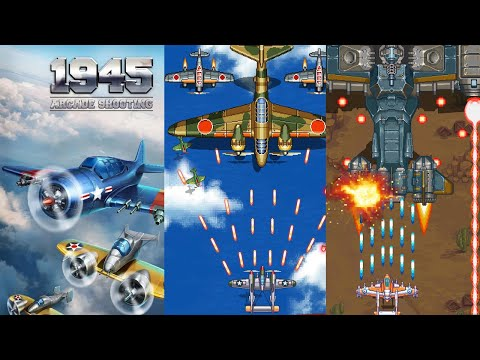 1945 Air Forces - iOS/Android Gameplay Video