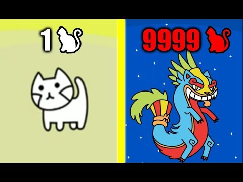 MOST STRONGEST CAT GOD EVOLUTION Max Level Speed & Power in Cat Evolution! (9999   Level Dragon Cat)