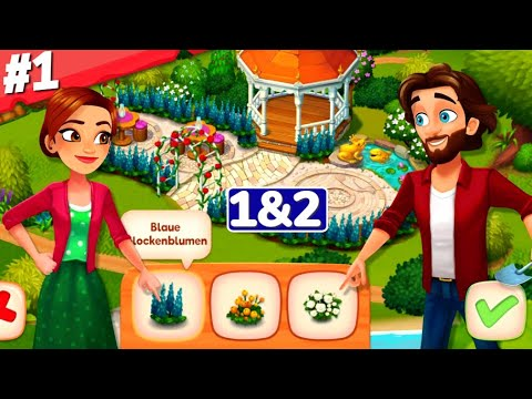 Delicious Bed & Breakfast Gameplay Walkthrough Chapter 1&2 iOS Android Story Tutorial