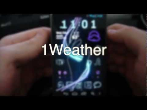 1Weather -- The Android Weather App with STYLE